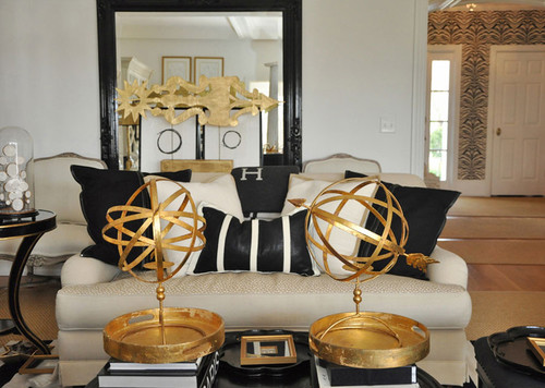 living room take over BLACK GOLD OR WHITE AND GOLD