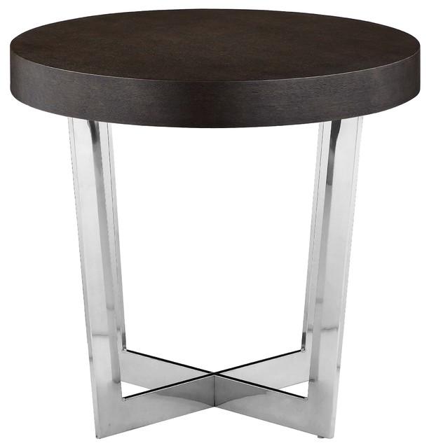 Pearl Side Table, Espresso.