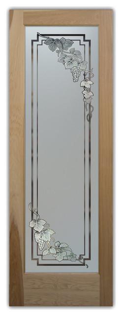 Pantry Door Vineyard Grapes Cascade 3D