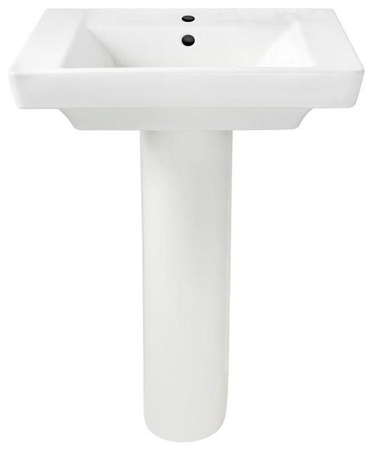Shop HouzzBoulevard Pedestal Sink 24Bathroom Sinks