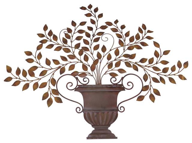 Clic Olive Leaf Urn Wall Art Mediterranean Plaque Tuscan Greek