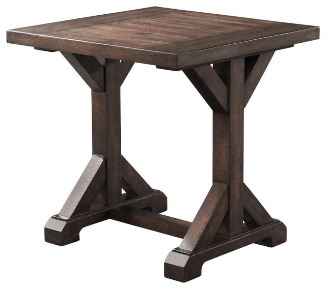 Flynn Trestle End Table.