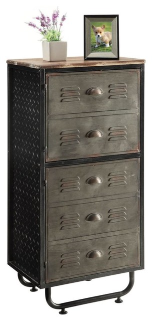 Ramone Locker Storage Unit Gunmetal