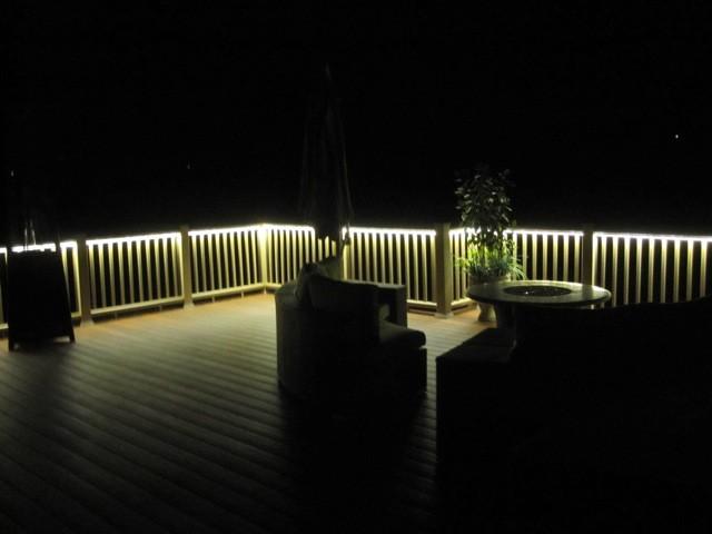 led deck lighting ideas. Deck And Balcony Design With LED Lighting American-traditional-veranda Led Ideas Q