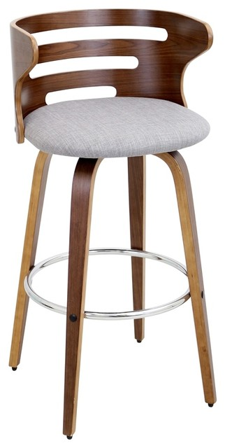 Shop Houzz LumiSource Cosini Mid Century Modern Barstool  : contemporary bar stools and counter stools from www.houzz.com size 322 x 640 jpeg 35kB