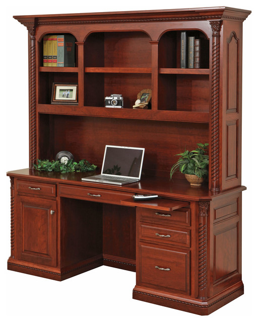 lexington office desk and hutch traditional desks and hutches rh houzz com lexington sc office furniture lexington office furniture west springfield ma