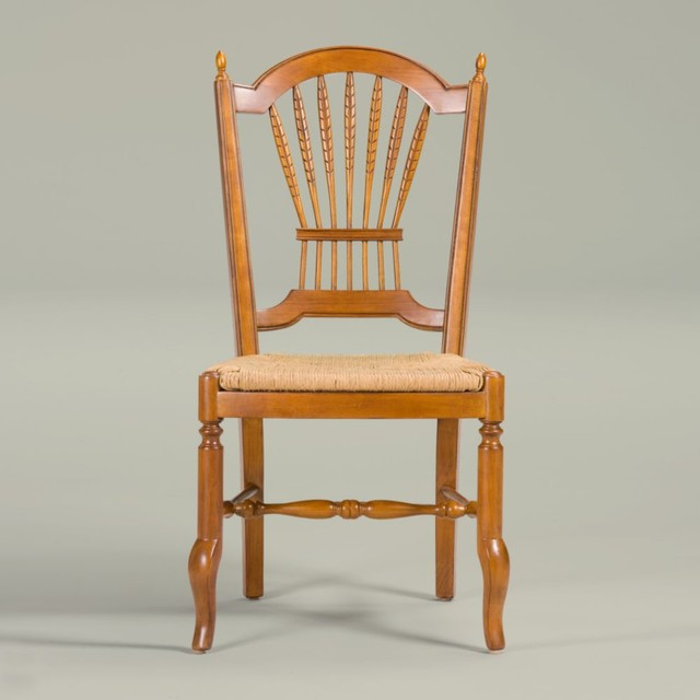 Maison By Ethan Allen Renée Side Chair   Woven Seat