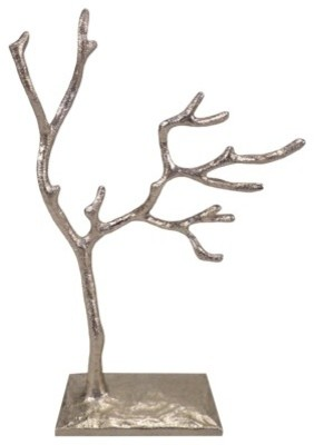 Jewelry Tree, Nickel Finish