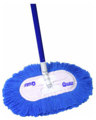 Quickie 065 Swivel-Flex Nylon Dust Mop With 360-Degree Swivel Connector