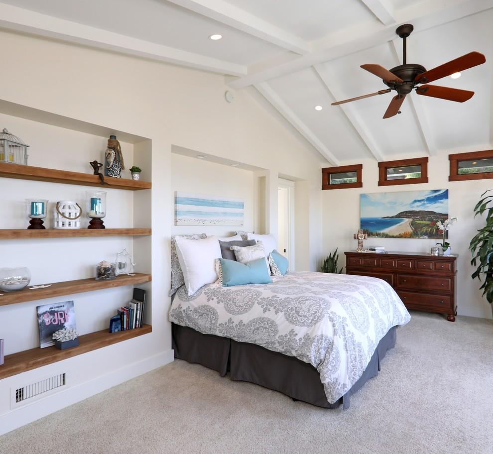 Laguna Beach master bedroom repaint