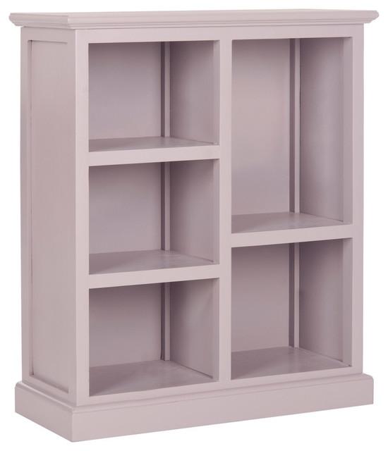 Safavieh Maralah Bookcase, Quartz Gray.