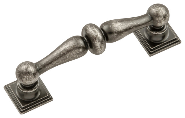 Sommerset Cabinet Pull, Black Nickel - Traditional - Cabinet And Drawer Handle Pulls - by Simply ...