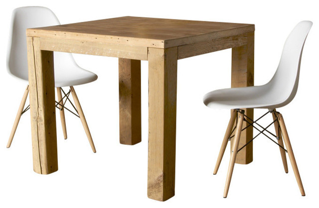 Parsons Urban Wood Dining Table Dining Tables By Urban Wood Goods - Square parsons dining table