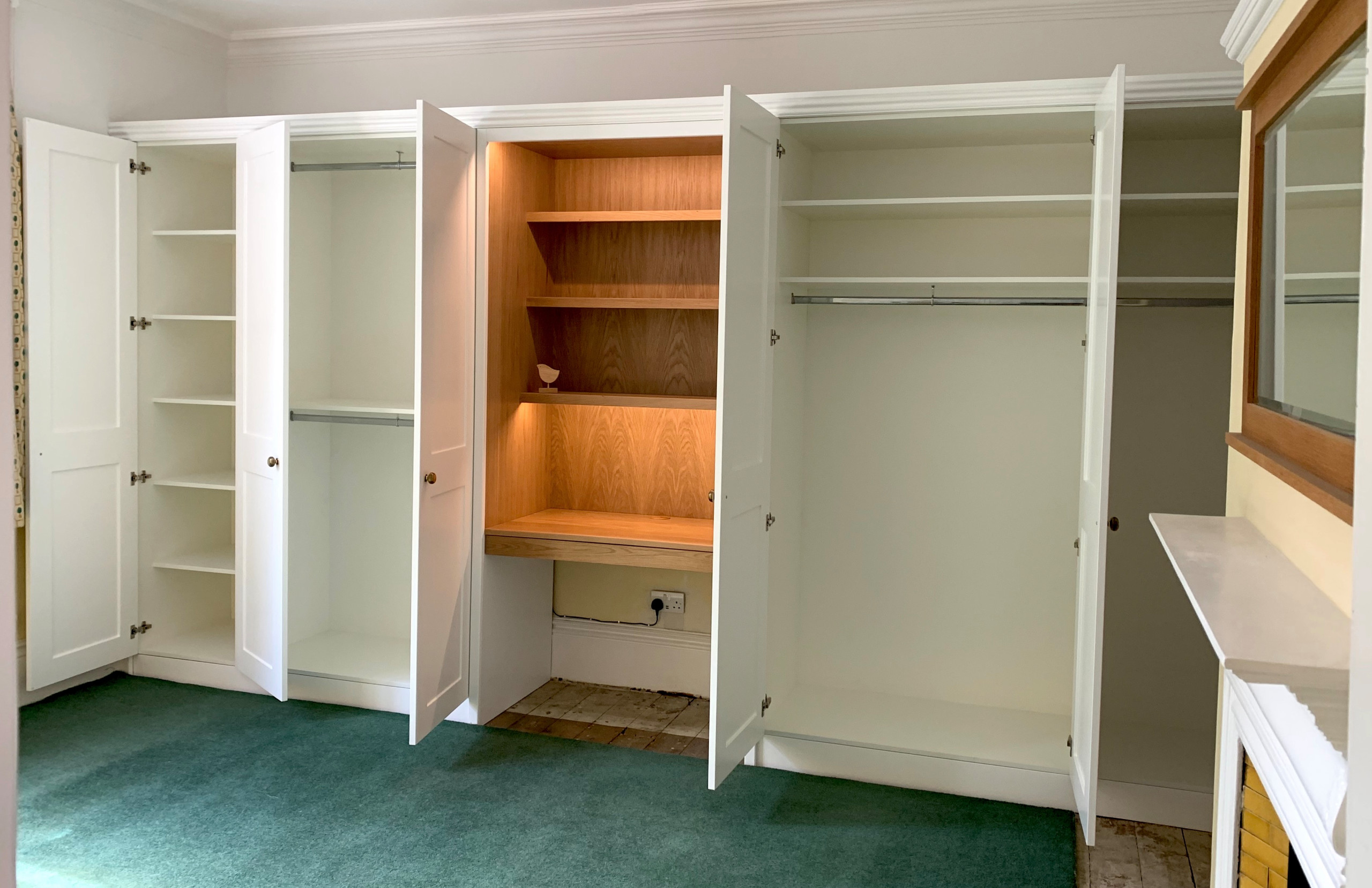 Wardrobes (Painted)