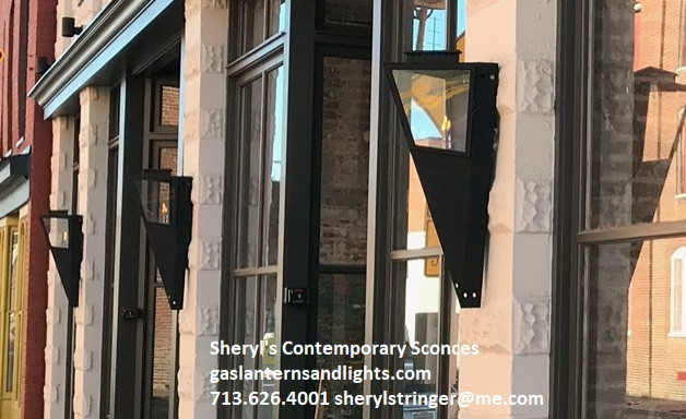Sheryl's Contemporary Gas Sconce