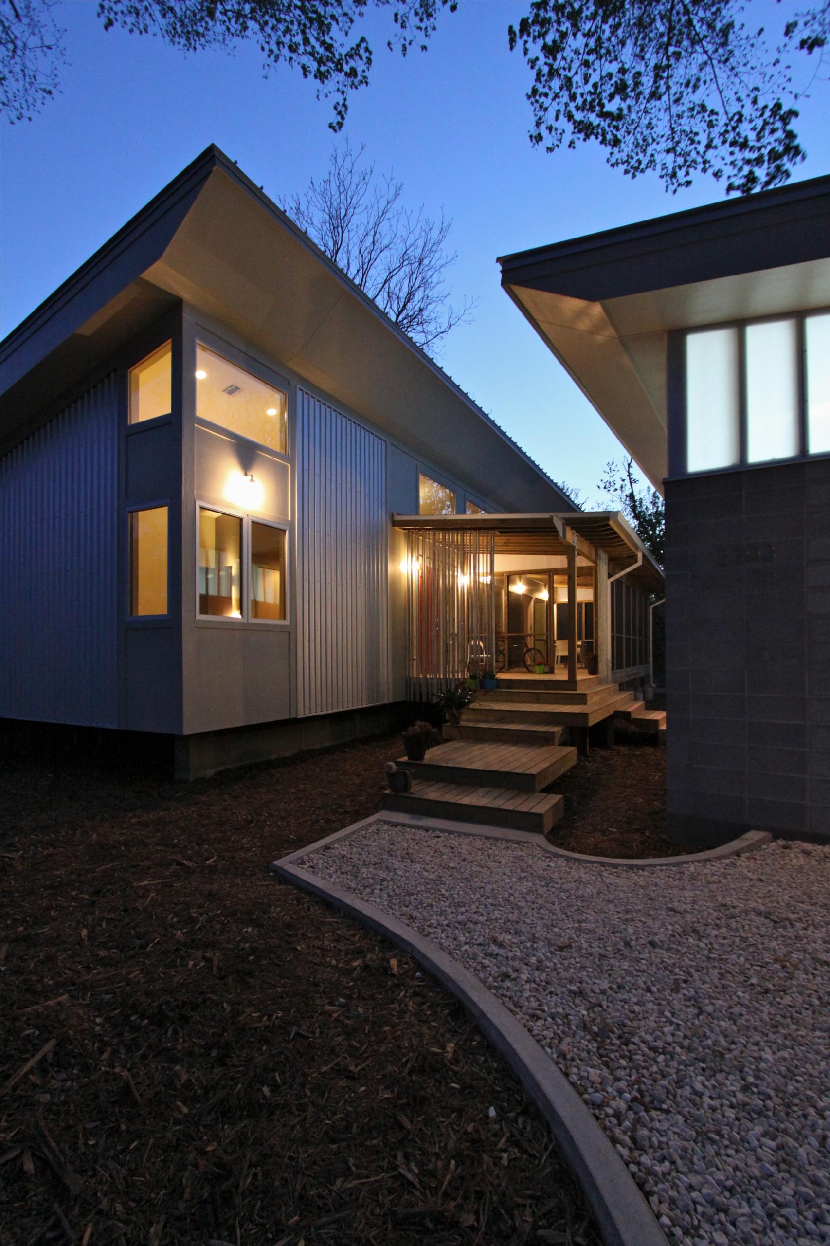 Modest Modern Spring Branch House