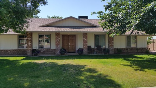 Need curb appeal for 70 39 s ranch for 70 s house exterior remodel