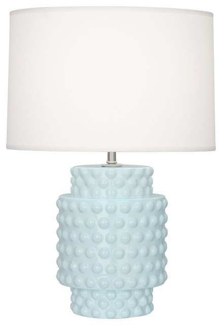 Robert Abbey Dolly Al Dolly 22 Column Table Lamp With A Fondine Fabric Shade Contemporary Table Lamps By Benjamin Rugs And Furniture