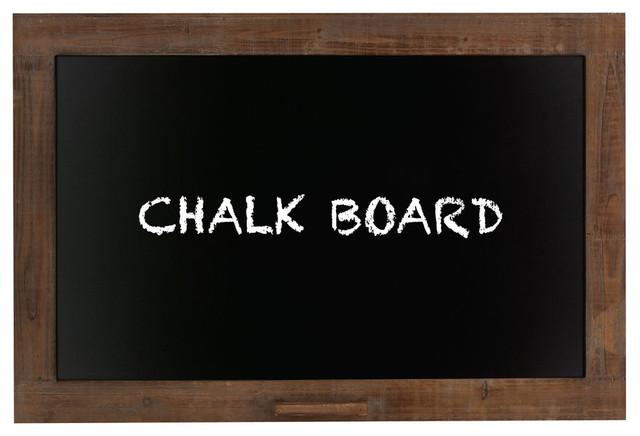 """Wood Blackboard 36""""w, 24""""h. -1"""