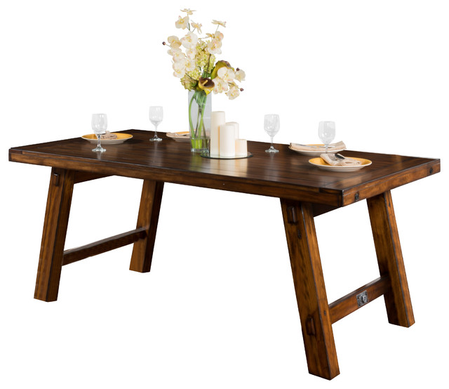 Shop Houzz   Sunny Designs, Inc. Tuscany Extension Table With ...