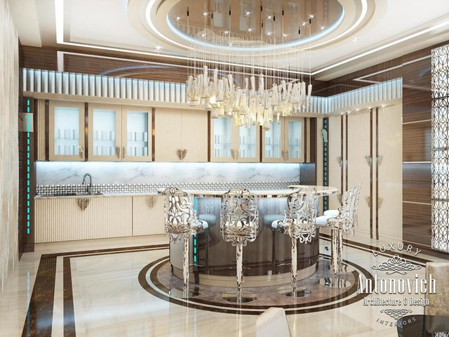 Kitchens dubai from antonovich design for Kitchen designs dubai