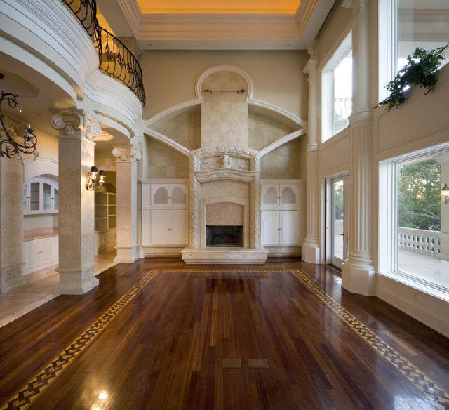 Luxury high end hardwood flooring Luxur home interior