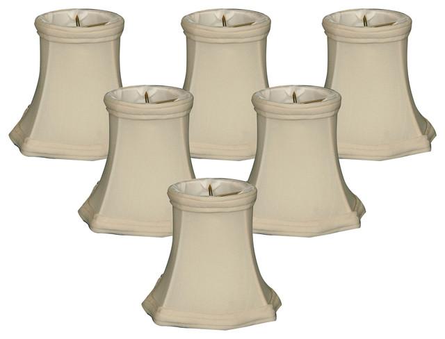 5 Quot Decorative Trim Fancy Square Bell Chandelier Lamp Shade