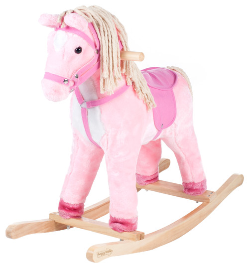Pink Patty the Pony with Cotton Hair and Tail by Happy Trails