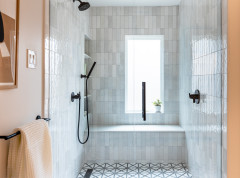 Bathroom of the Week: Streamlined Layout With a Soothing Spa Feel