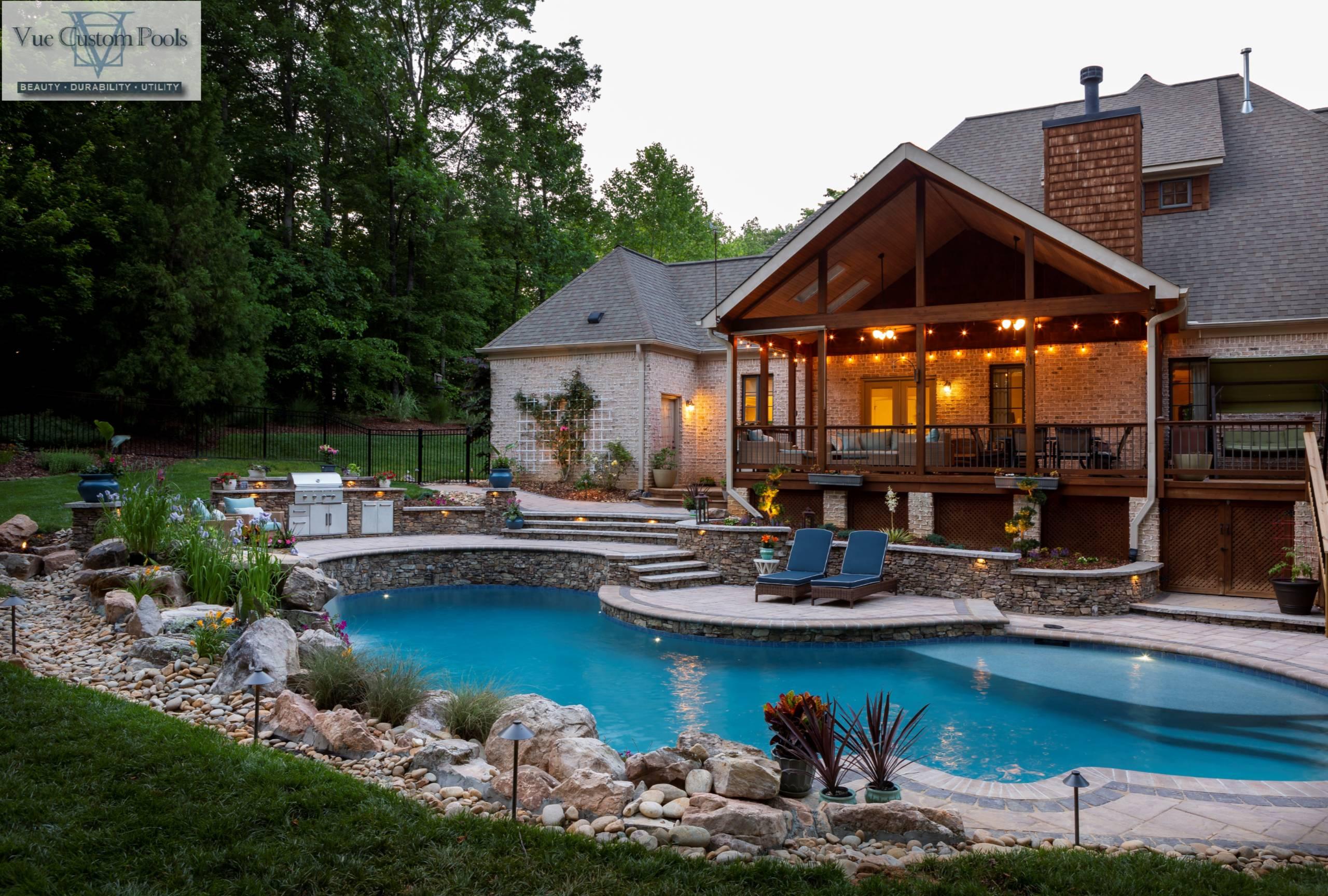 Custom Backyard Retreat in Oak Ridge