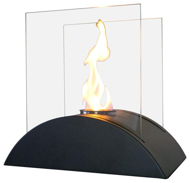 Estro Personal Tabletop Ethanol Fireplace.