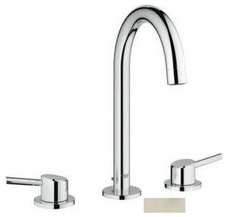Grohe concetto widespread faucet w silkmove watercare for Water tech bathroom fittings