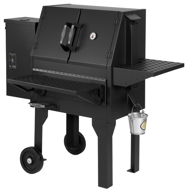 Pellet Grill/smoker, Direct And Non-Direct Grilling.