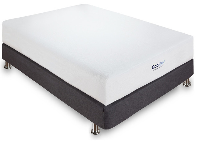 Equinox Cool Gel Memory Foam Mattress, King.