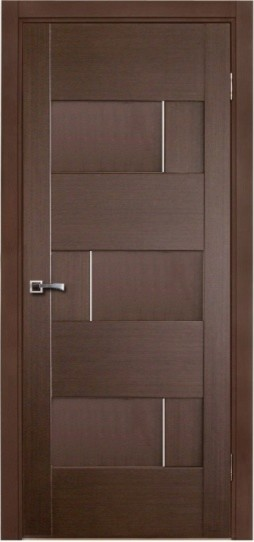 Dominika Contemporary Interior Door Wenge Finish Modern