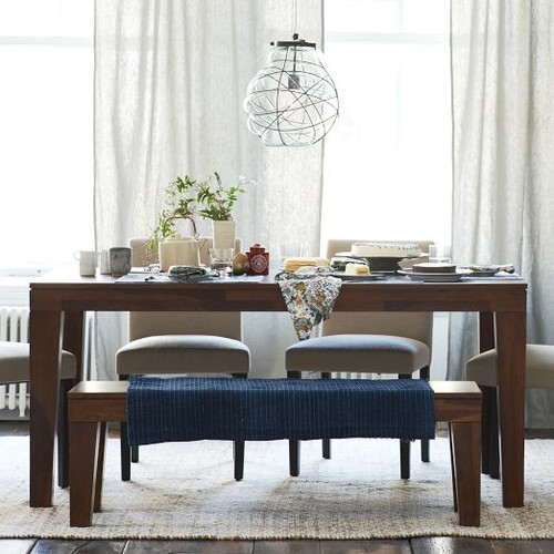 When Is A Bench Appropriate For A Dining Room?