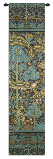 """In The Blue Wood 2 Wall Tapestry, 16""""x70""""."""