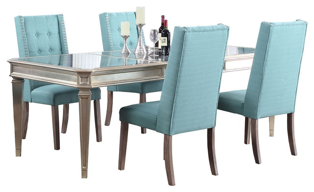 Palais 5 Piece Dining Room Set, Laguna