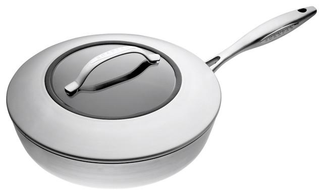 "Scanpan Ctx 11"" Saute Pan With Lid."