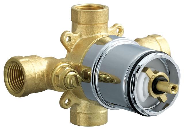 Delta Pressure Balance Valve Body PTR188700 IPWS  : modern showerhead parts from www.houzz.com size 640 x 452 jpeg 72kB