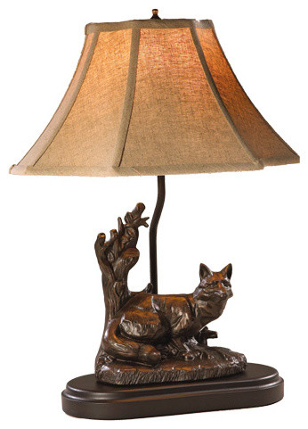 Shop Houzz Ok Casting Male Fox Lamp Table Lamps