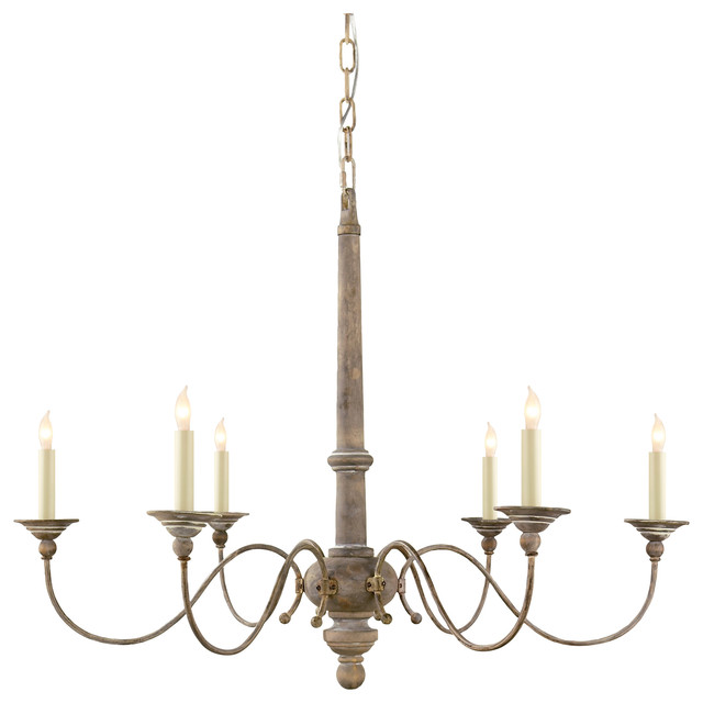Country 6 light chandelier farmhouse chandeliers by benjamin country 6 light chandelier aloadofball Gallery