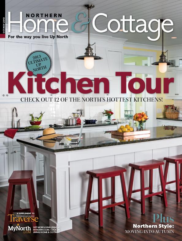 Northern Michigan Cottage Featured in 2013 Kitchen Tour