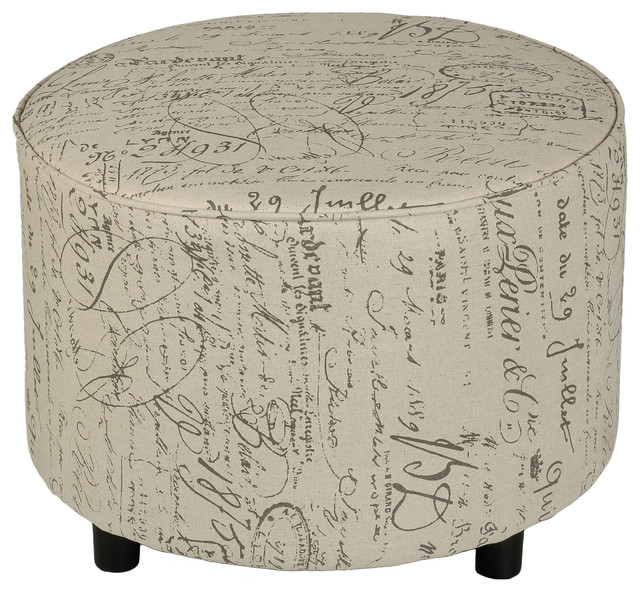 Wondrous Shakespeare Medium Size Round Ottoman Machost Co Dining Chair Design Ideas Machostcouk