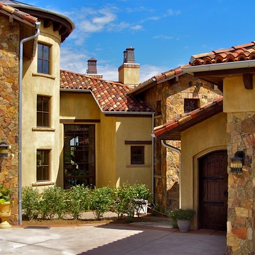 Authentic Venetian plaster exterior in Colorado