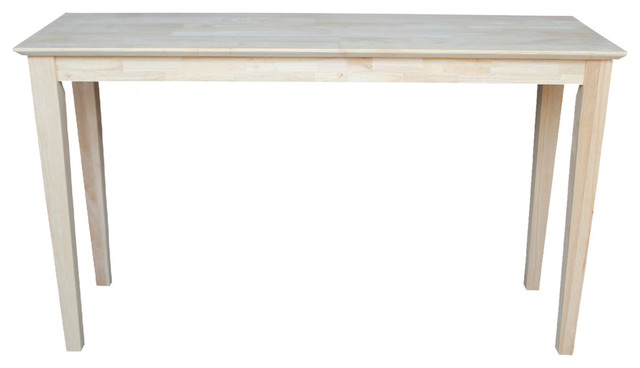 Mason Shaker Console Table Farmhouse Console Tables By