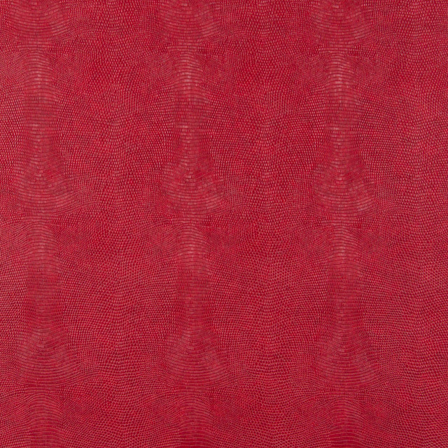 Cherry Red Stingray Look Faux Leather Vinyl By The Yard