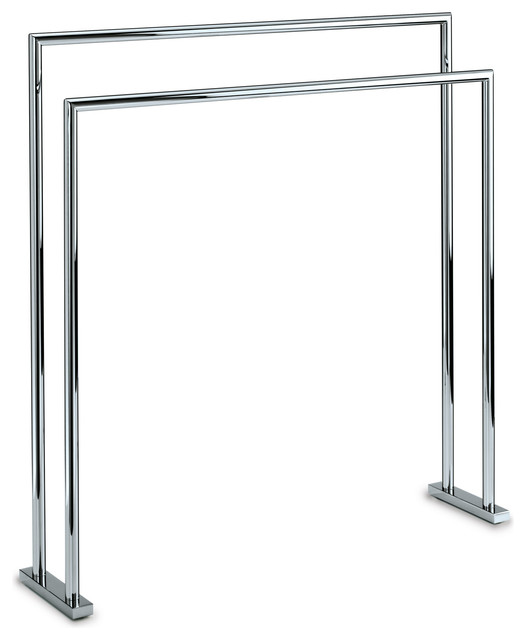 towel holder stand. DWBA Standing Towel Bathroom Rack Stand Bar 27.5\ Holder
