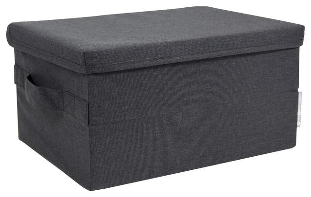 Soft Storage Box, Storage, Large, Black Modern Storage Bins And