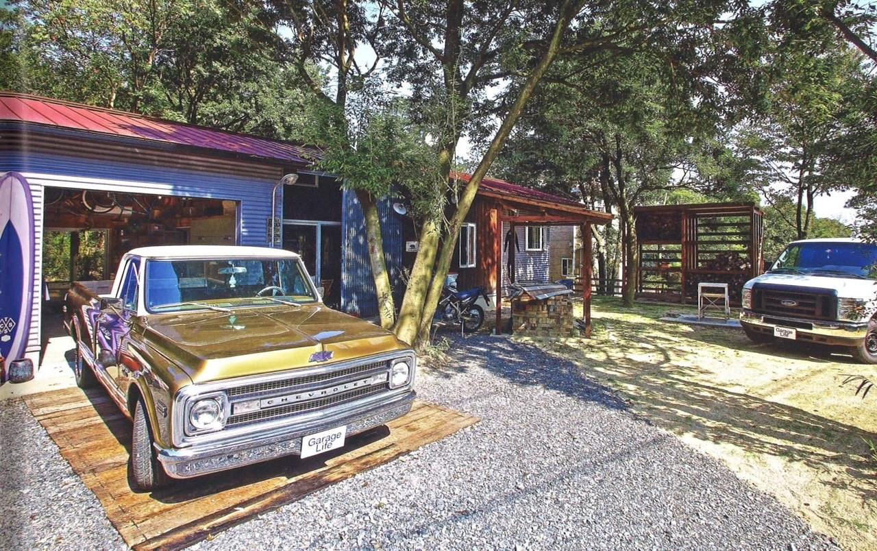 ガレージのある家 Nenohira-Base
